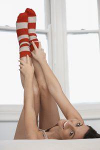 Rasierpickel an den Beinen sind sehr unangenehm und unschön