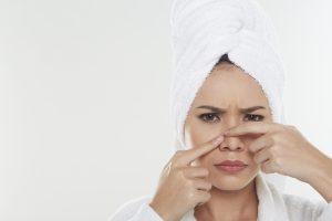 Die Narbenbildung wird durch Dreck bevorzugt