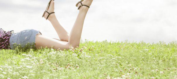 Narbenfreie und schöne Beine