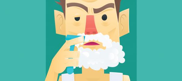 In diesem Artikel erfährst du wie du Rasurbrand behandeln kannst.