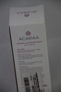 Die Inhaltsstoffe des Natural Aftershave Balms sind besonders reich an Vitaminen