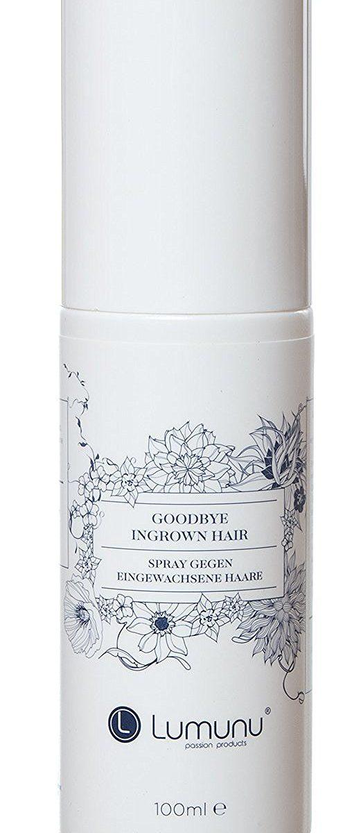 deluxe spray gegen eingewachsene haare